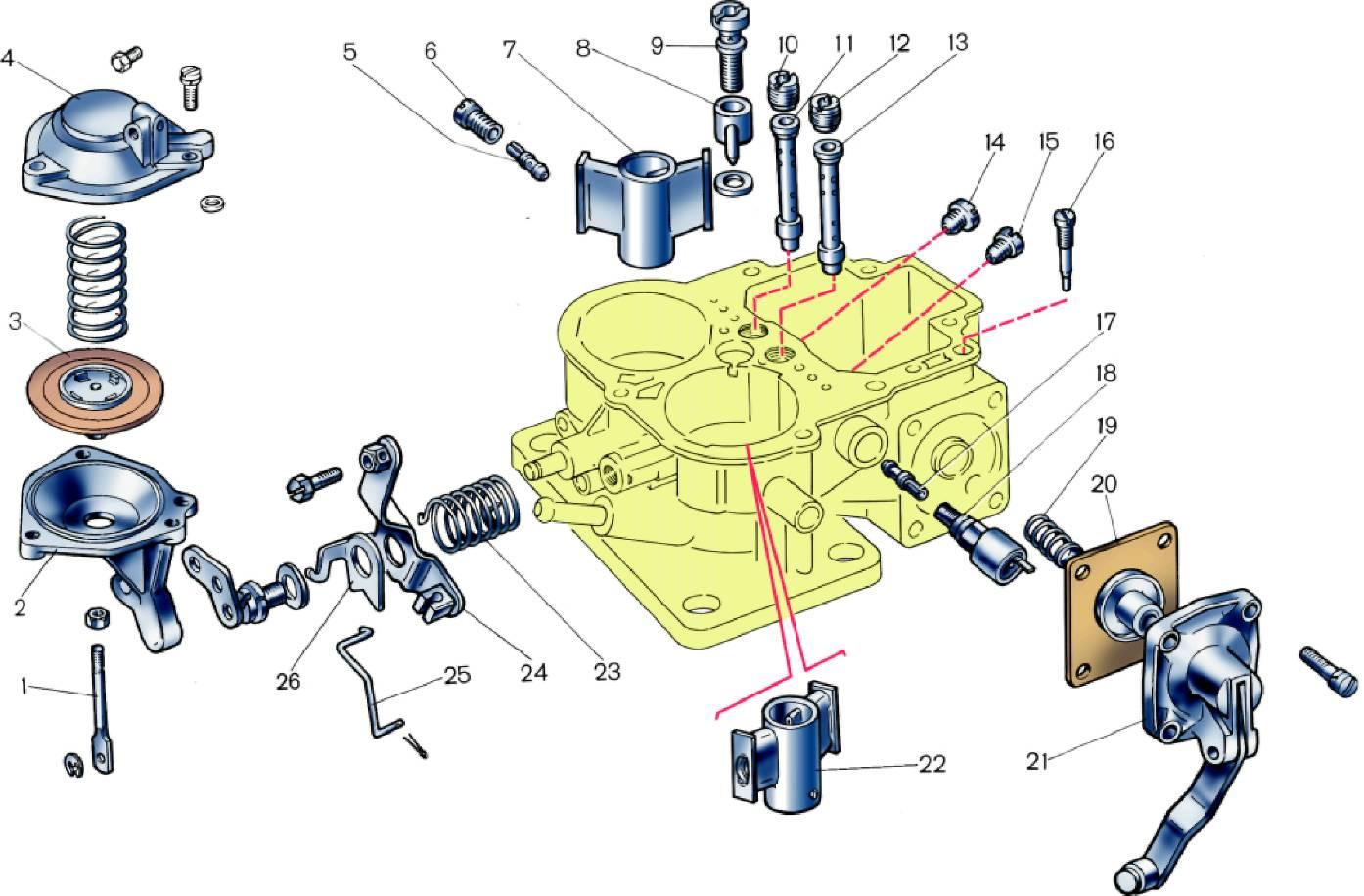 Электромагнитный бензиновый клапан устройство 28